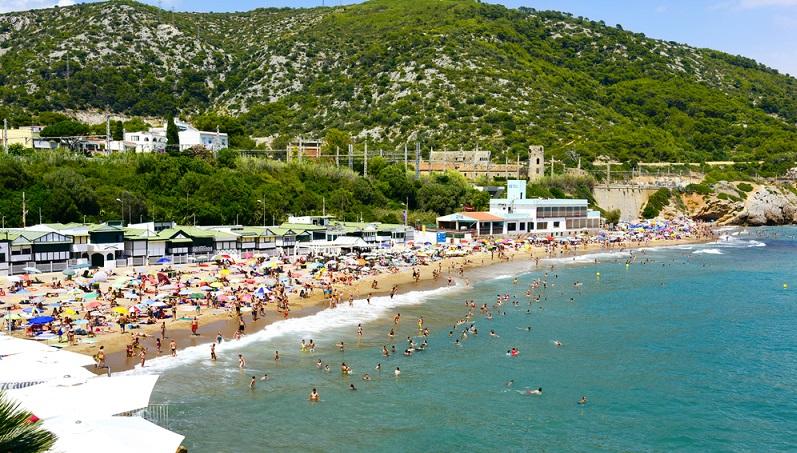 Die Costa del Garraf reicht von Barcelona bis nach Vilanova i la Geltrú.